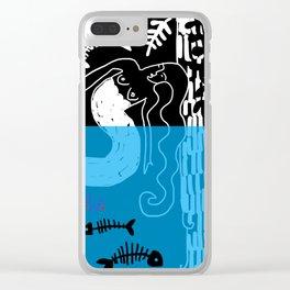 sirene Clear iPhone Case