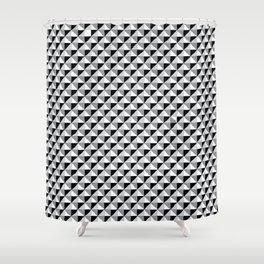 Pattern_1 B&W Shower Curtain