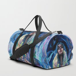 The Rustle of Narwhal's Wings Duffle Bag