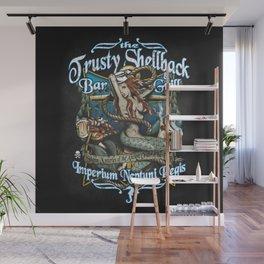 Trusty Shellback Bar & Grill Mermaid Wall Mural