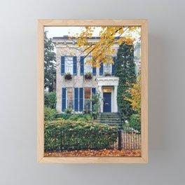 Georgetown House 1 Framed Mini Art Print
