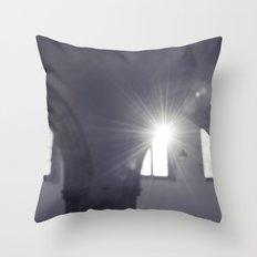 blurred faith... Throw Pillow