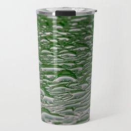 Abstract pattern made from rain droplets. Travel Mug