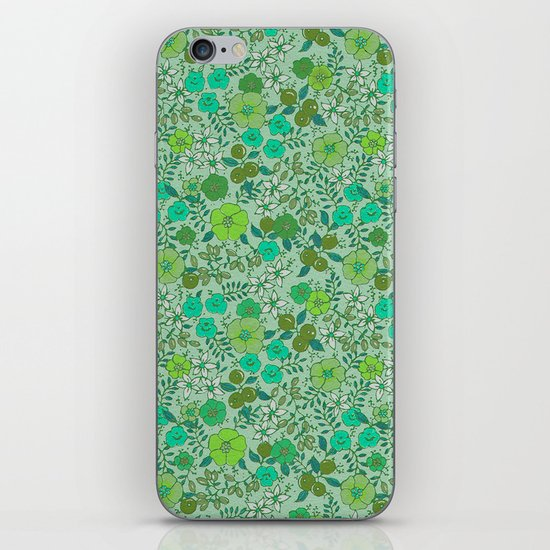 Floral2 iPhone & iPod Skin