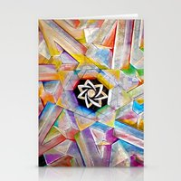 escher Stationery Cards featuring Escher Star by Todd Huffine