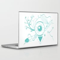 surrealism Laptop & iPad Skins featuring Surrealism by Karen Trujillo