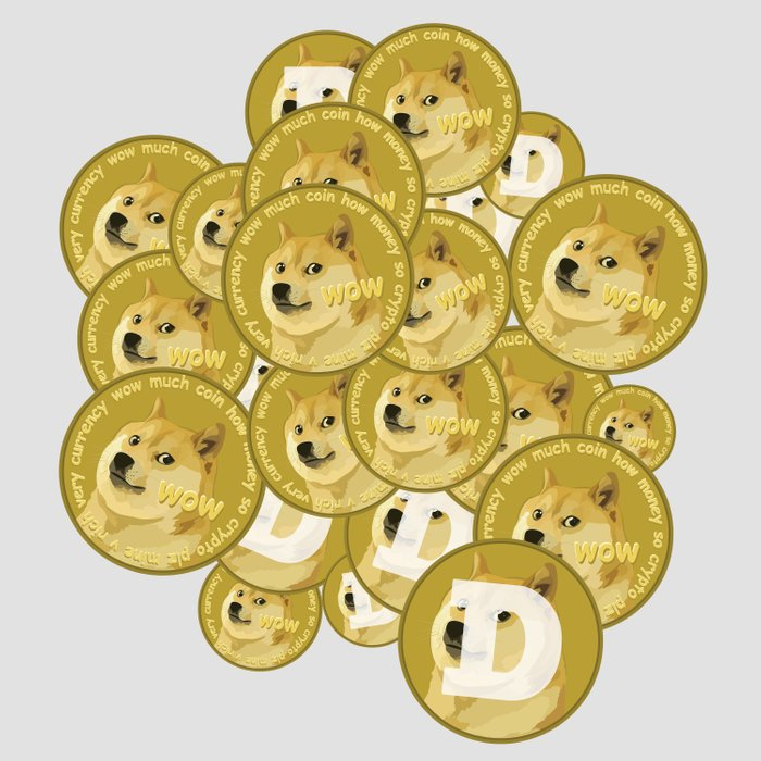 Such coins, so much dogecoins Comforters