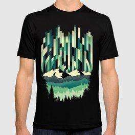 Sunrise in Vertical - Winter Blues T-shirt