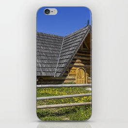 Wooden Home. iPhone Skin