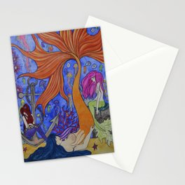 Sirens of the Sea Stationery Cards