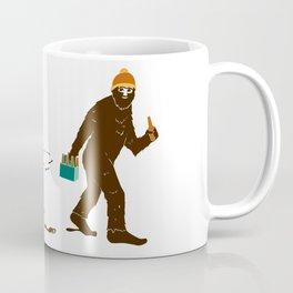 A Hairy Camp Robber Coffee Mug