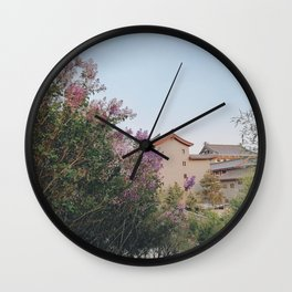 flower photography by KAL VISUALS Wall Clock