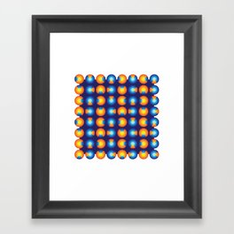 Microphysical 01 Framed Art Print