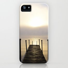 Into the Light: Sunrise, First Full Day of Fall iPhone Case