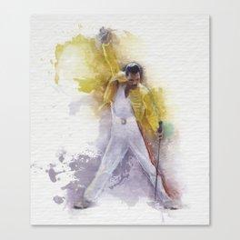 Watercolor Queen Canvas Print