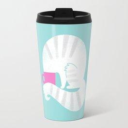 Curious Cat Travel Mug