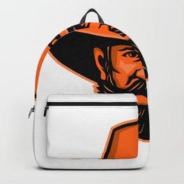 General Ulysses Grant Mascot Backpack