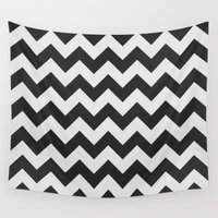 chevron Wall Tapestries featuring Chevron by NobuDesign