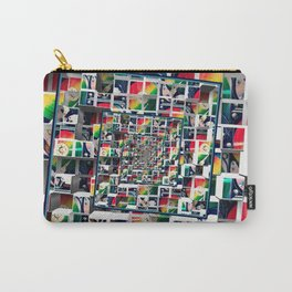 Computer Disks Pop Art Carry-All Pouch