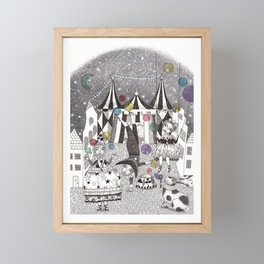 Night Carnival Framed Mini Art Print