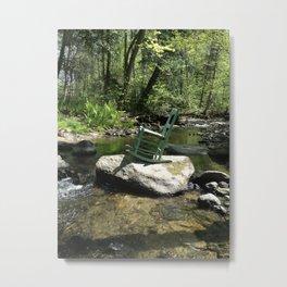 Chair III Metal Print