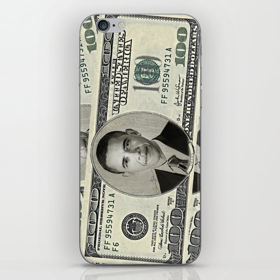 Mr President's Green iPhone & iPod Skin