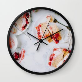 Let Them Eat Cake II Wall Clock