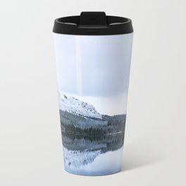 Reflection on loch Farr Travel Mug