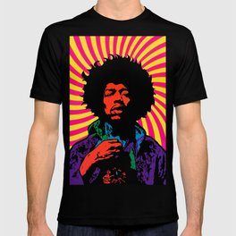 Psychedelic Jimi T-shirt