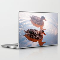 duck Laptop & iPad Skins featuring Duck by DistinctyDesign