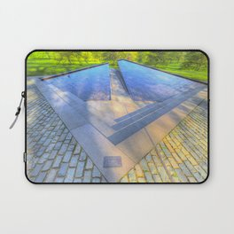 Canadian war Memorial Green Park London Laptop Sleeve