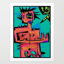 animalmangod Art Print