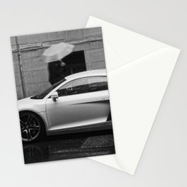 Fast in the Rain Stationery Cards