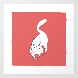 Curious #1 Art Print