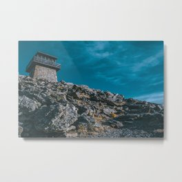 Moody Mountain Lookout - Colorado Metal Print