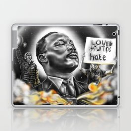 Living in A Burning House Laptop & iPad Skin