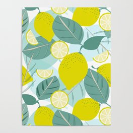 Lemons and Slices Poster