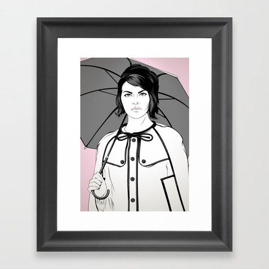 Llueve Framed Art Print