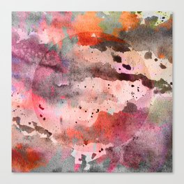 Water Color Madness Canvas Print