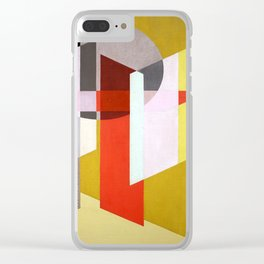 Laszlo Moholy Nagy Z VII Clear iPhone Case