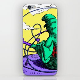 The Caterpillar! iPhone Skin