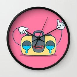 Nostalgic Stereo Wall Clock