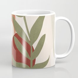Two Abstract Branches Coffee Mug