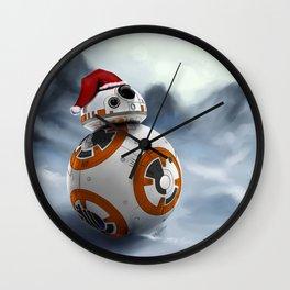 Christmas BB8 Wall Clock