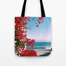 Flower Water Tote Bag
