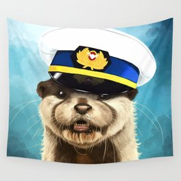 Captain Otter Wall Tapestry