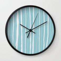 Vertical Living Salt Water Wall Clock