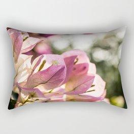 Pink Bougainvillea Rectangular Pillow