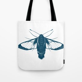 Snowberry Clearwing Moth Tote Bag