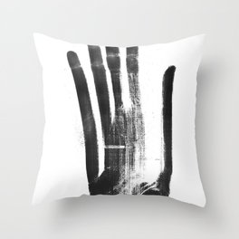 T-shirt - sei tu a piegarti Throw Pillow